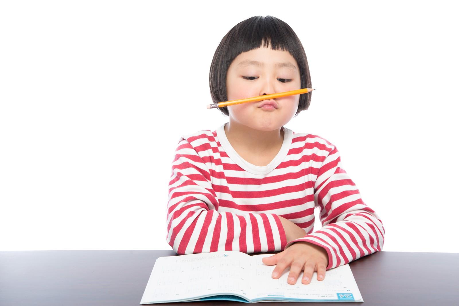 小学校の勉強についていけない学習障害児