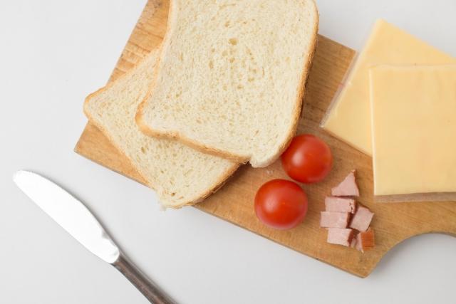 サンドイッチづくりの紹介
